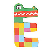 Tatiri Crazy Animals Letter E (Green Crocodile)