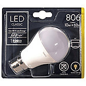 Tesco LED Star Classic 60W B22 Bayonet Cap Light Bulb