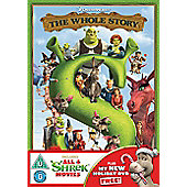 Shrek Boxset 1-4 (2013 Re-Sleeve) 4 Disc DVD