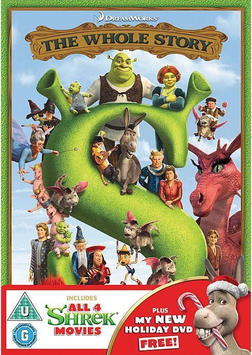 Shrek Boxset 1-4 (DVD Boxset)