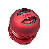 XMI X-Mini II (2nd Gen) Red Capsule Speaker for iPhone/iPad/iPod/MP3 Players
