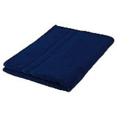 Tesco 100% Combed Cotton Bath Sheet Navy