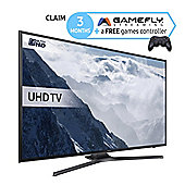 Samsung UE60KU6000 60 Inch Smart WiFi Built In Ultra HD 4k LED TV with Freeview HD