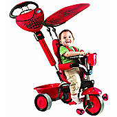 Smart Trike 4 in 1 Touch Steering LADYBUG