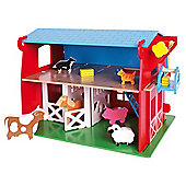 Bigjigs Toys JT112 Heritage Playset Red Barn