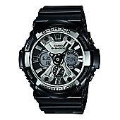 Casio G-Shock Mens World Time Stopwatch Countdown timer Watch GA-200BW-1AER
