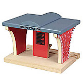 Train Station For Wooden Railway Train Set 50935 - Brio Bigjigs Compatible