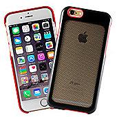 Aluminium iPhone 6 Hex Mesh Case - Black