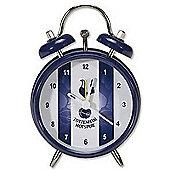 Tottenham Hotspur FC Stripe Mini Bell Alarm Clock