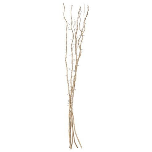 120cm Decorative Twig Lights in Gold