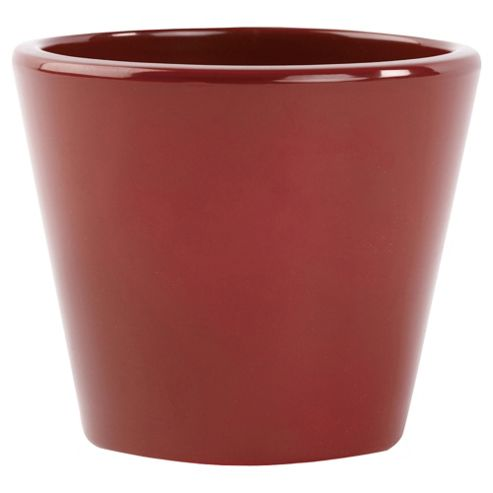 Ivyline Basic Plant Pot Red