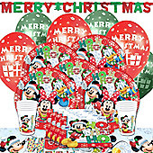 Mickey Mouse Christmas Party Pack For 8