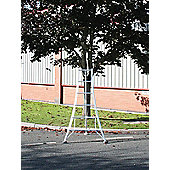 Trade 1.8m (5.91ft) Standard - Garden Hedge Cutting Tripod Ladder