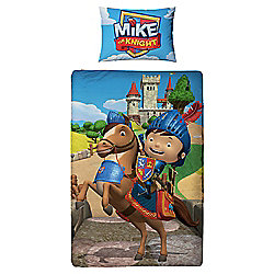 Mike The Knight Single Bed Duvet Cover Set