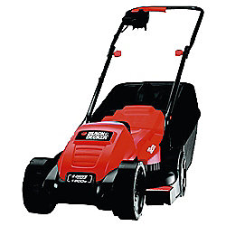 BLACK+DECKER Edge-Max 1200w Electric Rotary Lawn Mower
