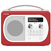 Pure Evoke D4 Mio Bluetooth DAB/FM Radio (Scarlet)