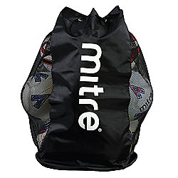 Mitre Nylon/Mesh Football Soccer 12 Ball Sack Carrier Bag