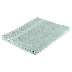 Tesco Pure Cotton Bath Sheet Duck Egg