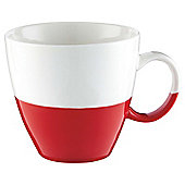 Tesco Red Dipped Mug Single