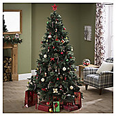 Tesco Luxury Regency Fir Christmas Tree, 7ft