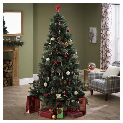 Buy Luxury Regency Fir 7ft Christmas Tree, Tesco from our ...