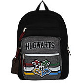 Harry Potter Collegiate Black Backpack