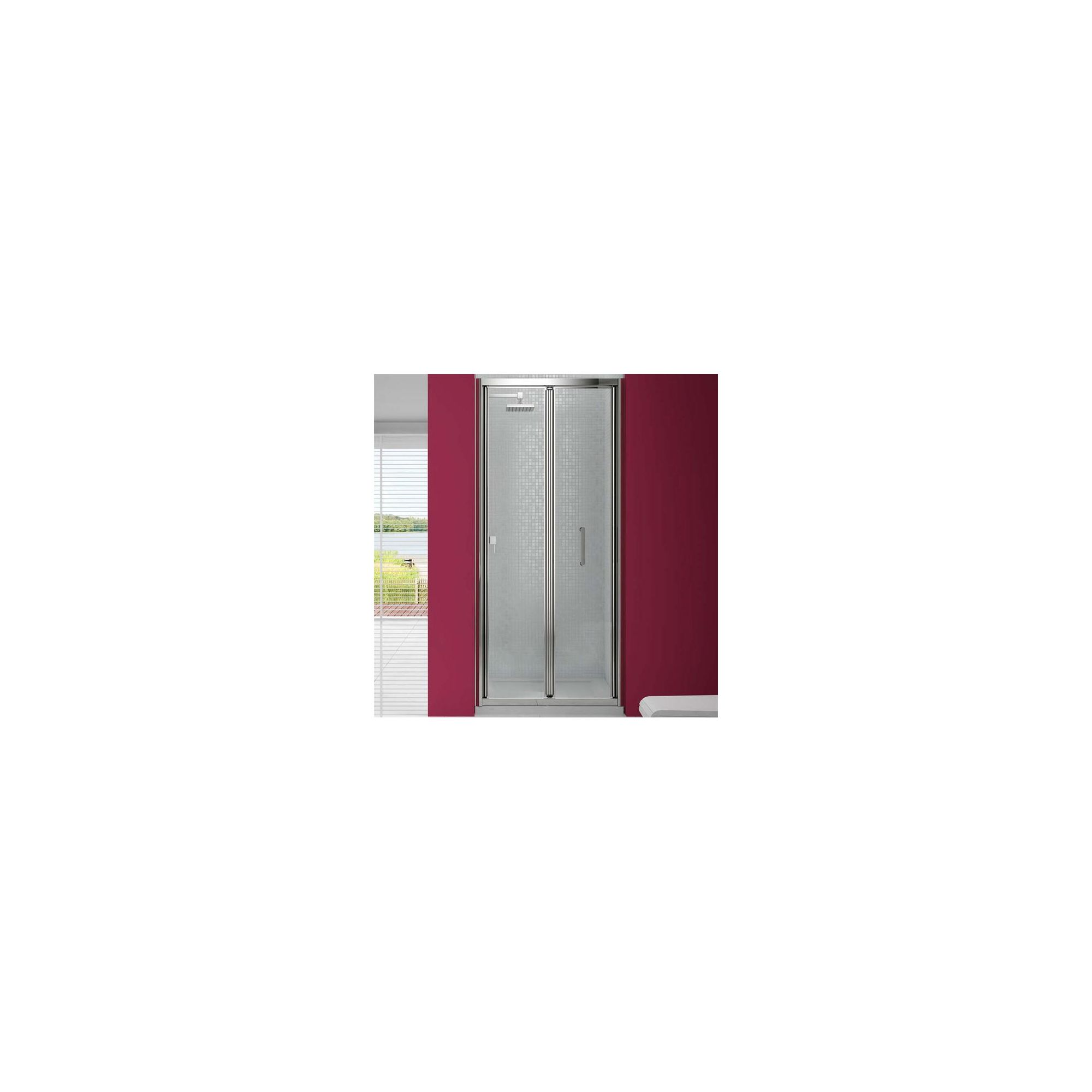 Merlyn Vivid Six Bi-Fold Shower Door, 760/800mm x 760/800mm, 6mm Glass at Tesco Direct