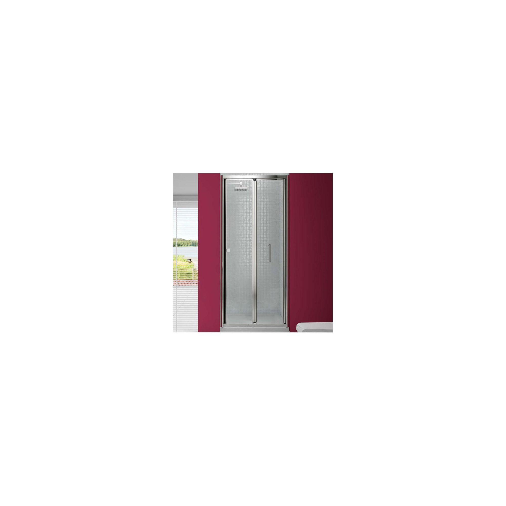 Merlyn Vivid Six Bi-Fold Shower Door, 760/800mm x 760/800mm, 6mm Glass at Tesco Direct
