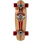 Mindless Longboards Campus II V-tail Red Complete Mini Longboard