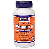 Now Vitamin D 120 Capsules