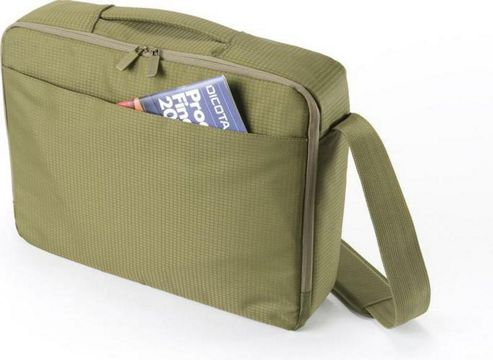 Dicota CasualStyle Shoulder Bag (Green) for 17 inch - 18.4 inch Notebooks