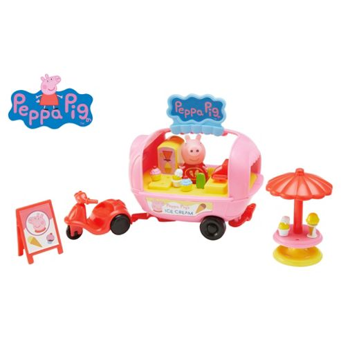Peppa Pigs Theme Park Ice-Cream Playset