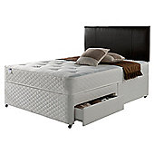 Silentnight Miracoil Comfort Ortho Tuft  2 Drawer Divan - King (5ft)