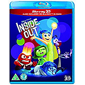 Inside Out 3D & 2D Blu-ray
