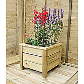 Timberdale Square Planter 41x41x35
