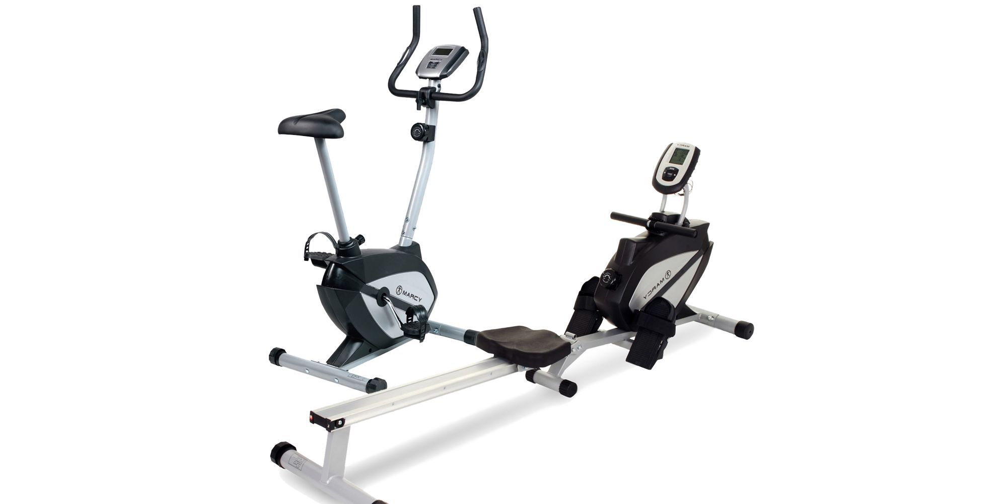 rowing machine and exercise bike