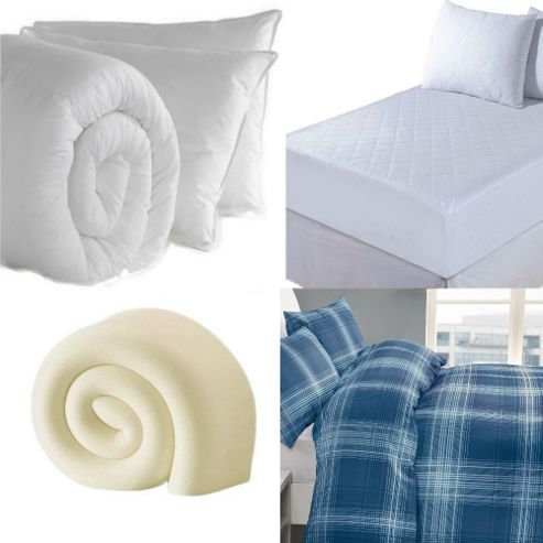 Student Back to University Luxury Single Bedding Bundle, Blue