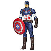 "Marvel Avengers: Age Of Ultron Titan Hero Tech 12"" Captain America Figure"