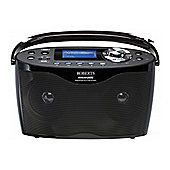 ROBERTS STREAM 205 INTERNET/DAB/FM PORTABLE RADIO (BLACK)