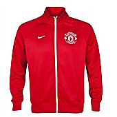2013-14 Man Utd Nike Core Trainer Jacket (Red) - Red