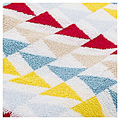 Tesco Geometric Design  Towel - Multi