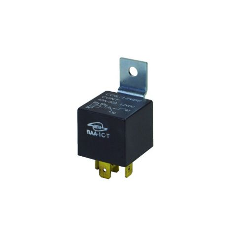 30A SPDT 6.35mm Terminals Automotive 12V DC Relay