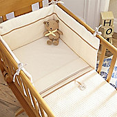 Izziwotnot Cream Gift Crib Set