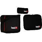 Head Black Freestyle Record Bag Set Laptop Sleeve/Pencil Case