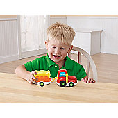 Vtech Toot Toot Bundle - Convertible With Caravan & Tractor With Trailer 2 Items Supplied