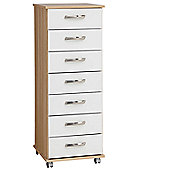 Ideal Furniture Regal 7 Drawer Slim Chest
