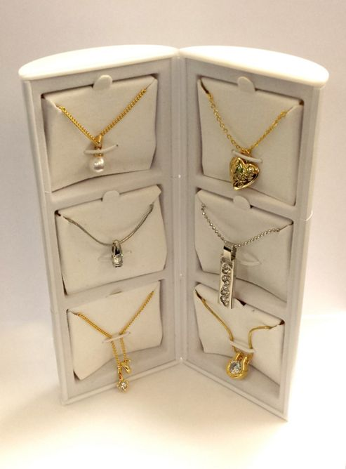 Pierre Cardin Ladies Necklace Jewellery - 6 Pendants Gift Set - PXX013B