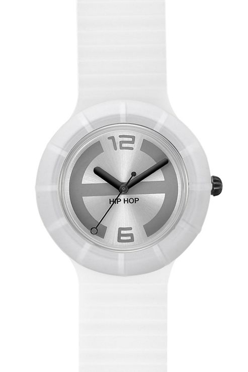 Hip Hop Unisex White Ghost Strap Watch HWU0108