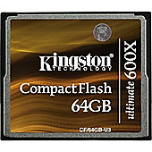 Kingston Ultimate 64 GB CompactFlash