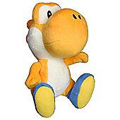 "Official Nintendo Super Mario Plush Series Stuffed Toy - 6"" Orange Yoshi"